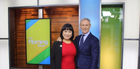 Tina Park & Jeff McArthur at Global News The Morning Show