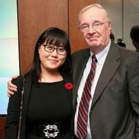 Tina Park and Paul Martin