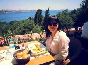 Lunch at the Topaki Palace, Istanbul