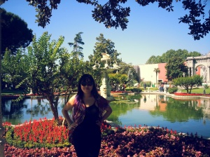 Lovin' the garden at the Dolmabache palace, Istanbul...Absolute beauty.
