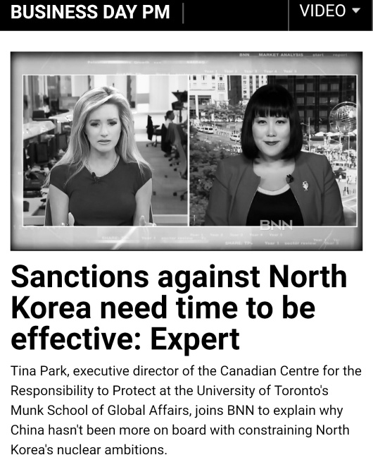 Tina Park and North Korea BNN